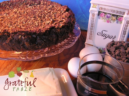 Eggs, Butter, Chocolate, Coffee: Easy Chocolate Torte