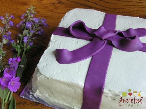 Grateful Table Chocolate Cake Pistachio W Fondant But My 50th Birthday