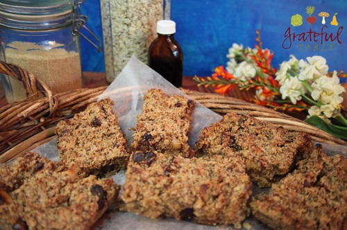 Oat and Amaranth Breakfast Bar