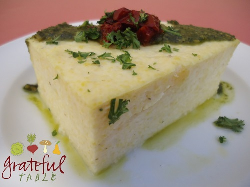 Easy Polenta- Just Add Boiling Water