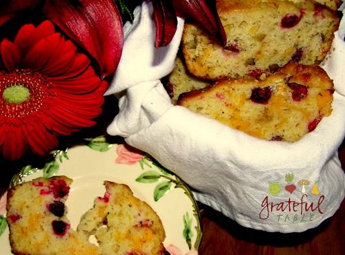 Whole Grain Cranberry Bread