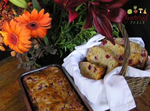Thanksgiving recipes: Cranberry Orange Nut Bread
