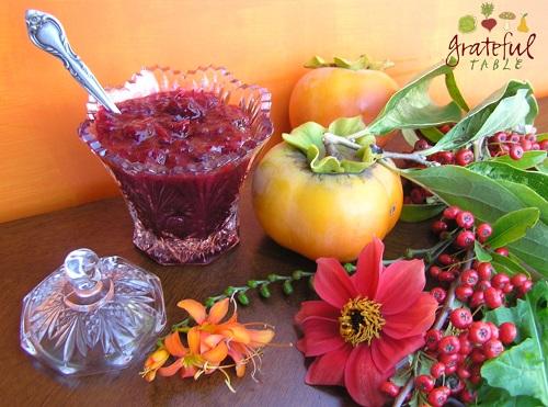 Easy Cranberry Relish