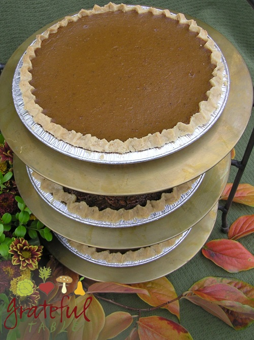 Traditional Pumpkin Pie Recipe, but No Soggy Crust