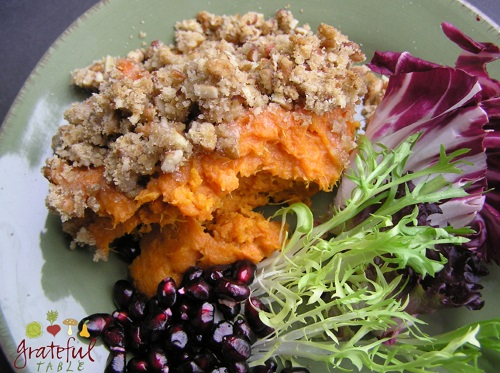 Thanksgiving Yams, Healthy Style