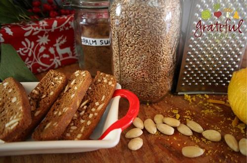 Christmas Cookies, Almond Biscotti