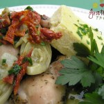 Chicken with Sun-dried Tomatoes, Aritichoke Hearts