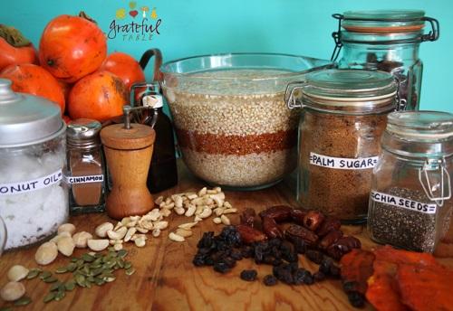Vegan Soaked Grains Oatmeal Bar