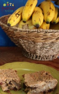 Banana Bread Breakfast with Whole Grains