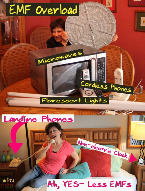 Swich from Electric Clocks, Cordless Phones, Etc.