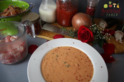 (Lobster or) Shrimp Bisque- Simple Recipe