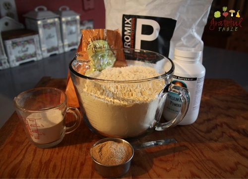 Meals for weight loss: Mix whey powder with ground psyllium husks & acacia powder