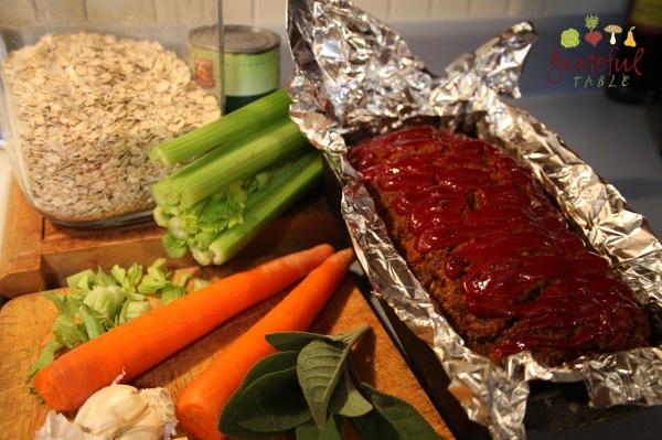 Use Oatmeal in Meatloaf (Whole Foods!)