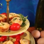 Tomato Tartlets w/No Mayo!