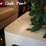 Add Polycrylic, Protect Painted Tables