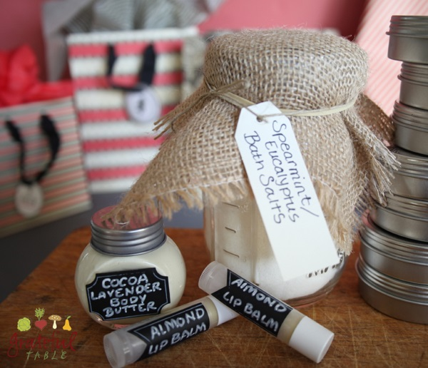 Homemade Gifts: Natural Skin Care