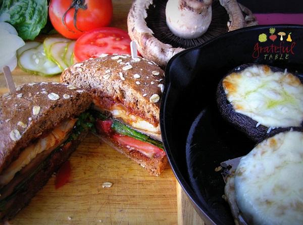 Vegetarian Main Dish: Portabella!
