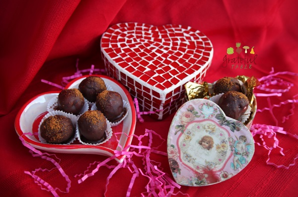 Showing Love with Healthy Truffles!