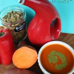 Sweet Potato Soup, Red Pepper Soup... All Good