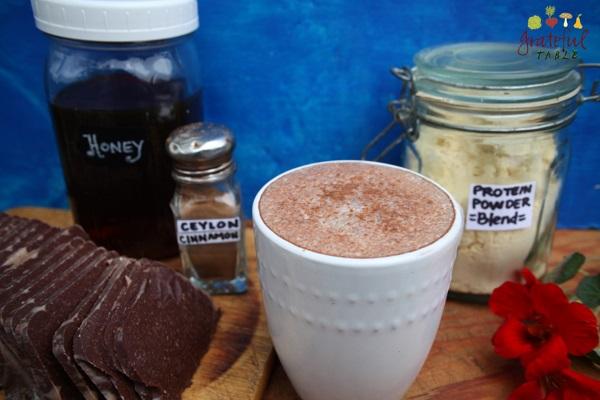 Hot Smoothie, Chocolate w/Protein Powder
