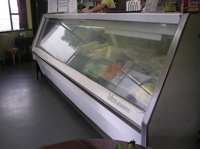"""Vintage"" but messed up- New Deli's old Deli Case"