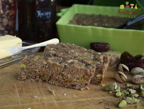 Baklava Bars w/Pistachios, Honey- HEALTHY!