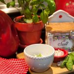 Salted garlic + olive oil + fresh motz