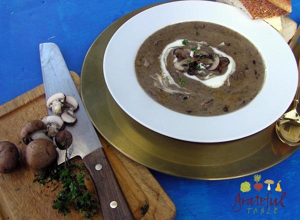 Creamy Gluten-Free Mushroom Soup