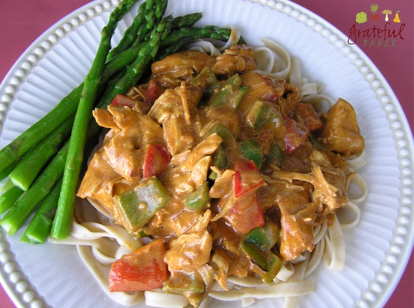 Chicken Paprikosh with Veggies