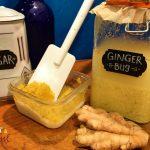 Easy recipe, ginger bug