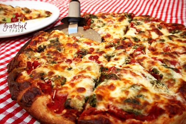 New Deli Pesto Pizza