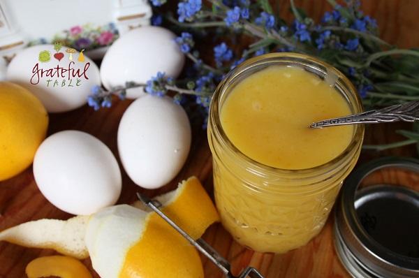 Whole Egg Lemon Curd, No Sugar