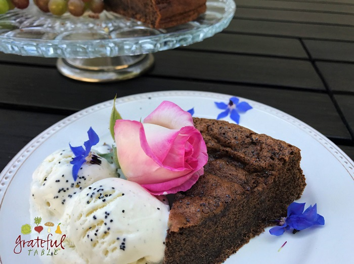 Ground Poppy Seeds Add Richness to Chocolate Torte