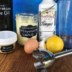Make mayo w/ olive oil, healthy!