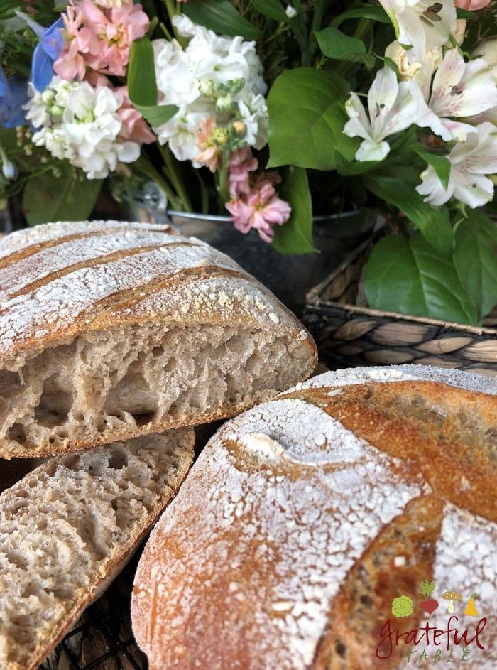 Artisan Bread w/Sourdough Starter