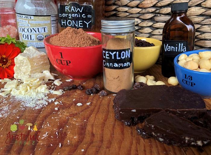 Homemade Bittersweet, Honey-Sweetened Chocolate Bar