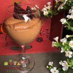 Chocolate Mousse- So Light, w/eggs, cream, & tad o' gelatin