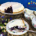 BonAppetit-Style Blueberry Pie w/Fresh Blueberries, Less Sugar