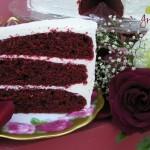 Red Velvet Cake w/ Authenic Frosting