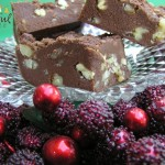 Chocolate Fudge w/Nuts