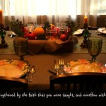 Colossians 2:7 Thanksgiving Verse