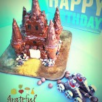 Castle Cake- Use Cones for Towers