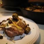 Olives, Raisins, Toasted Almonds, Make Tasty Morrocan Chicken