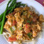 Chicken Paprikosh with Veggies